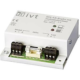 IVT Shunt Charge controller PWM 12 V, 24 V 8 A
