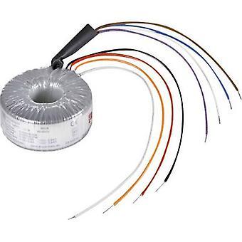 Toroidal core transformer 2 x 115 V 2 x 115 V AC 1200 VA 5.22 A RKD 1200/2x115 Block