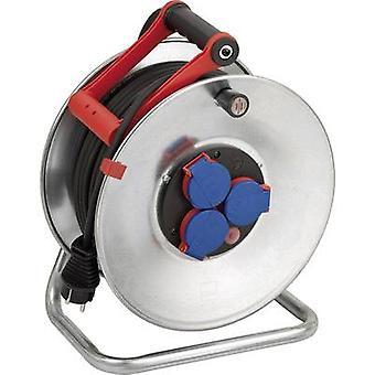 Brennenstuhl 1198530 kabel haspel 50 m zwart PG plug