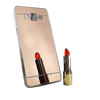 Samsung Galaxy A5 2015 Mobile Shell miroir miroir soft case housse de protection or rose