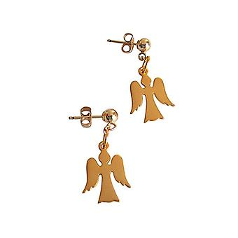 Engel Ohrringe vergoldete Ohrringe Schutzengel