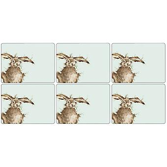 Pimpernel Wrendale Hare Placemats Set of 6
