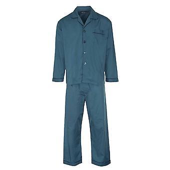 Champion Mens Cotton Blend Button Front Pyjama Lounge Wear