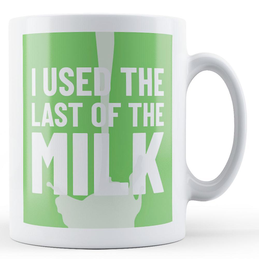 Used The MilkgreenPrinted Mug I Last Of TlcK1FJ