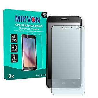 Alcatel One Touch Idol Mini 6012D Screen Protector - Mikvon Clear (Retail Package with accessories)