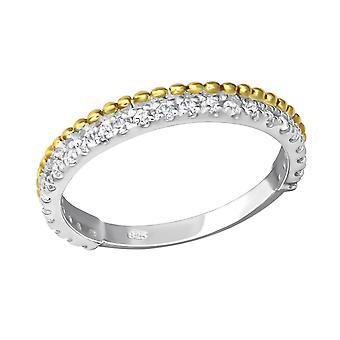Eternity - 925 Sterling Silver Cubic Zirconia Rings - W23261X