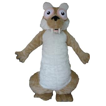 mascot SPOTSOUND of Scrat, famous squirrel from Ice Age