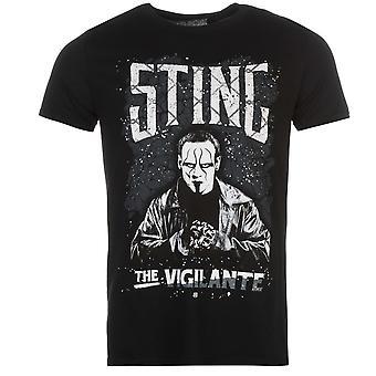 WWE Mens Legends T Shirt Tee Top Short Sleeve Crew Neck Lightweight Cotton