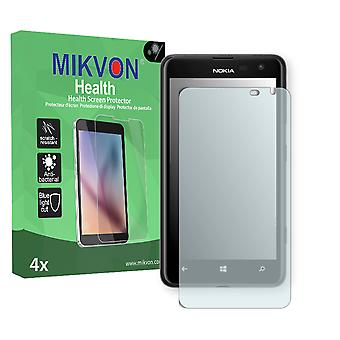 Nokia Lumia 625 Screen Protector - Mikvon Health (Retail Package with accessories) (reduced foil)