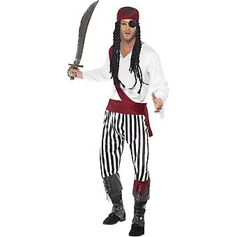 Pirate Man Costume, Chest 42