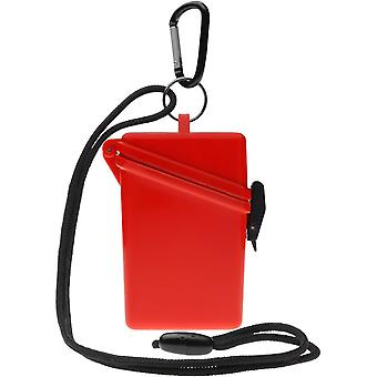 ヴィッツ維持安全な軽量防水スポーツ ケース - レッド