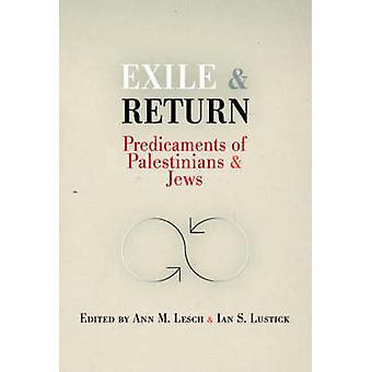 Eksil og tilbake - kniper palestinere og jøder av Ann Mosley