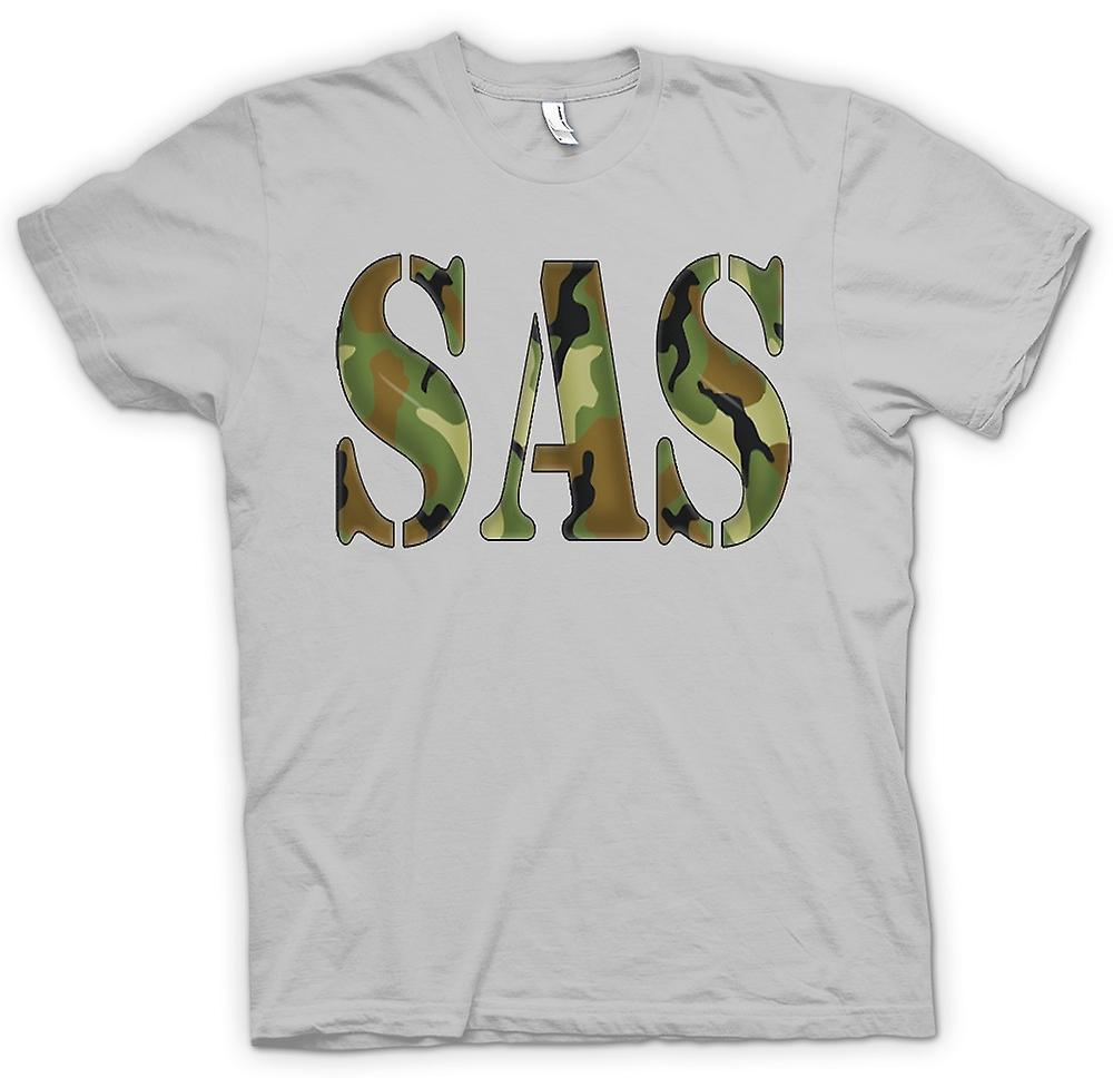 Herr T-shirt - SAS Camo - UK Special Forces