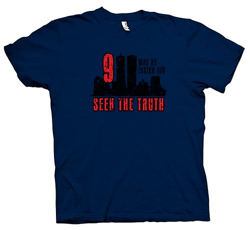 Mens T-shirt - 911 Inside Job - Truth Conspiracy