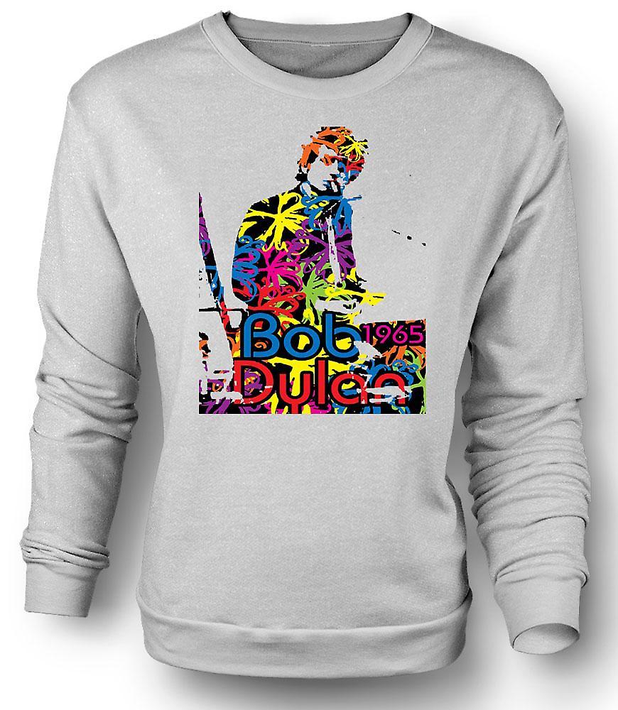 Mens Sweatshirt Bob Dylan 1965 - psychédélique
