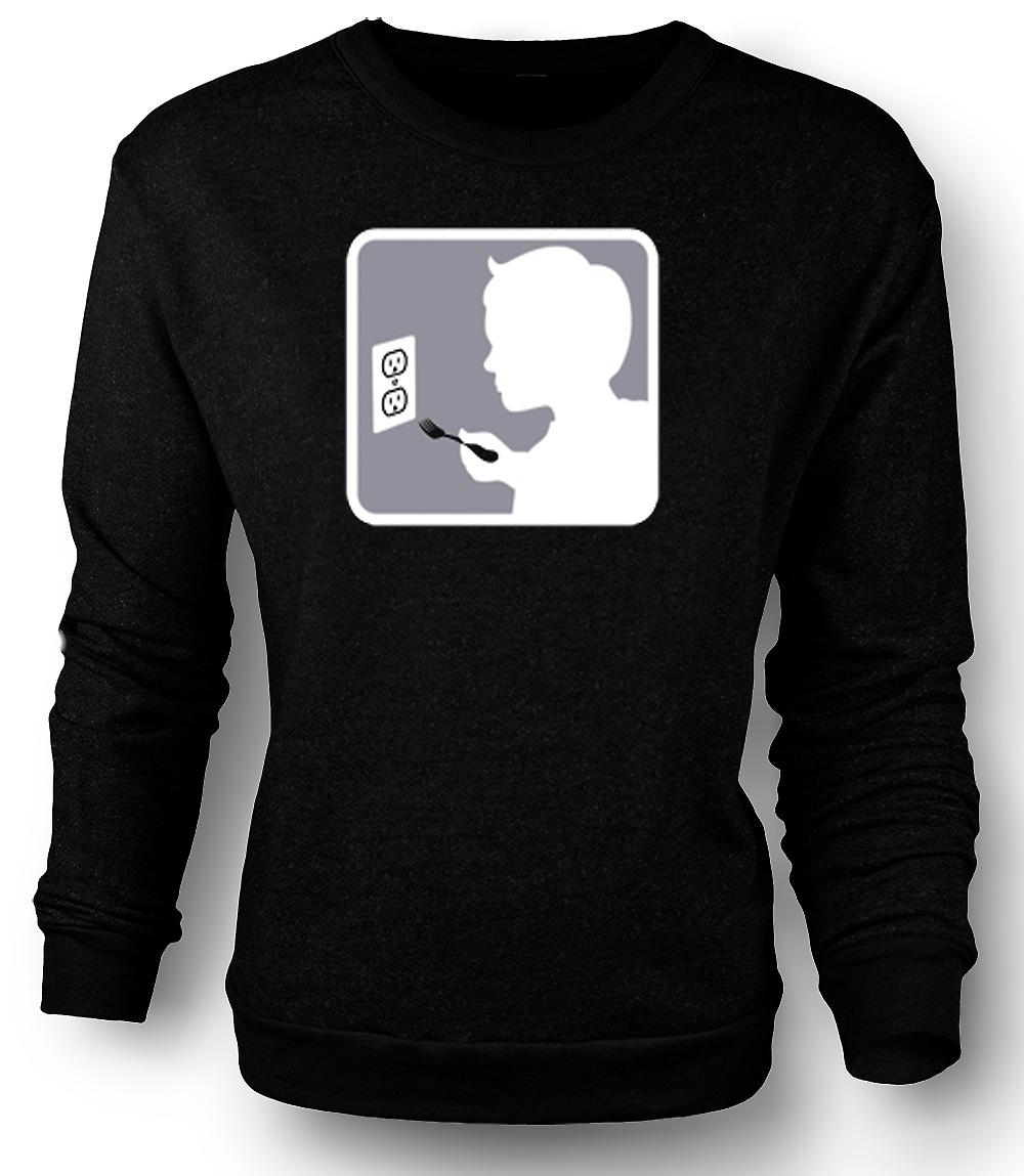 Mens Sweatshirt Stand Back I'm A Professional
