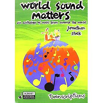 World Sound Matters: Transcriptions Book