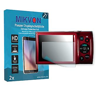 Canon Digital IXUS 145 Screen Protector - Mikvon Armor Screen Protector (Retail Package with accessories)