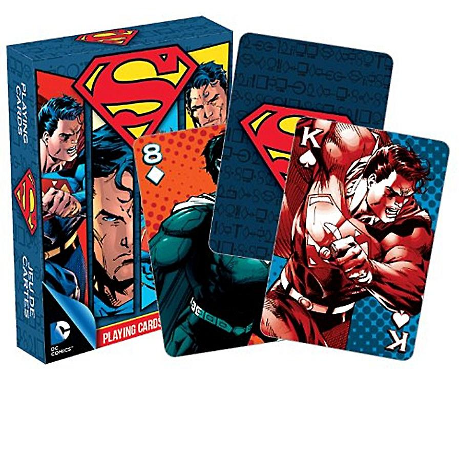 Superman set of playing cards    (nm)