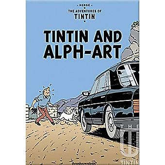 Tintin and Alph-Art fridge magnet (rr)