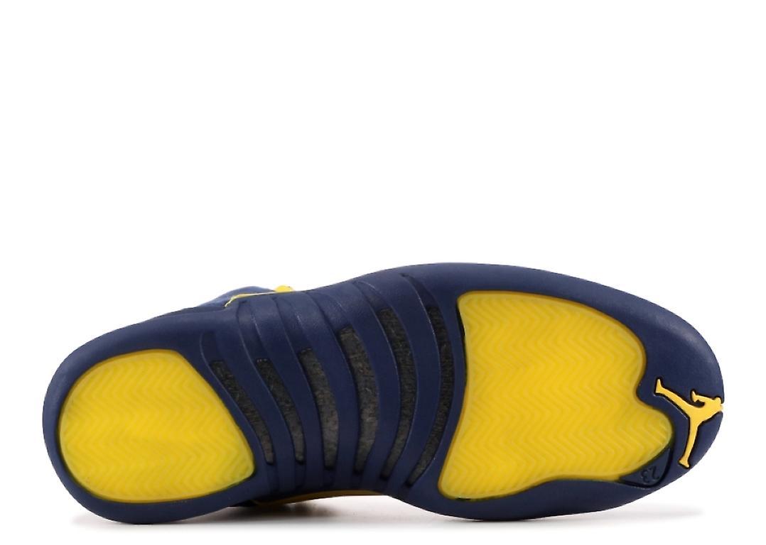 new product 23f6d 8d02f Air Jordan 12 Rtr Michigan Nrg 'Michigan' - Bq3180-407 - Shoes