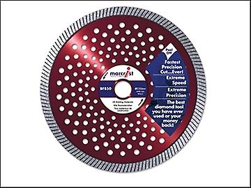 Marcrist BF850 Natural Diamond Blade Fast Precision Cut 125mm x 22.2mm