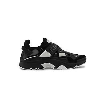Kenzo Black Leather Sneakers