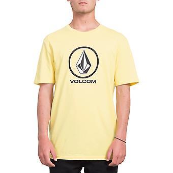 T-shirt manga curta-Crisp Volcom Stone