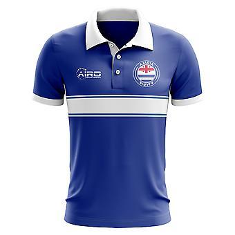 Koszulka Polo Ajaria koncepcja Stripe (niebieski)