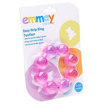 Emmay Care Easy Grip Water filled Ring Teether Teething