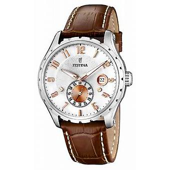 Festina Gents Brown Strap F16486/3 Watch