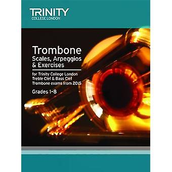 Brass Scales & Exercises - Trombone from 2015 - Grades 1 - 8 - 97808573