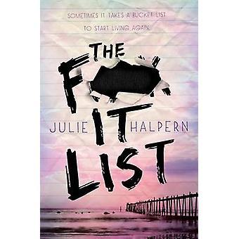 The F- It List by Julie Halpern - 9781250025654 Book