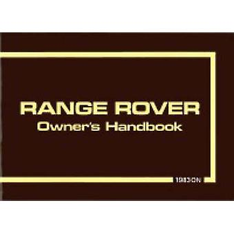 Range Rover 1983/85 (New edition) by Brooklands Books - 9781855202801