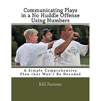 Communicating Plays in a No Huddle Offense Using Numbers: A Simple Comprehensive Plan That Won't Be Decoded
