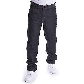 Pelle Pelle Baxter Loose Denim Jeans Raw Black