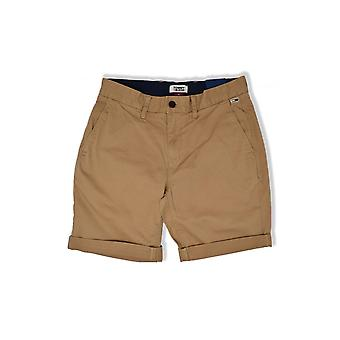 Tommy Jeans Essential Chino Shorts (Tiger's Eye)