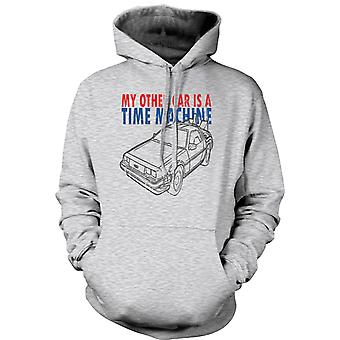 Mens Hoodie - My Other Car Is A Time Machine - Funny
