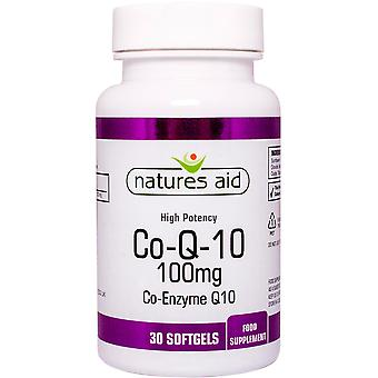 Le nature 100 aiuti CO-Q-10 mg (coenzima Q10), 30 Capsules