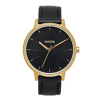 Nixon das Kensington Leder Gold / Schwarz (A108513)