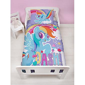 My Little Pony Crush Junior Duvet Cover and Pillowcase Set -Dash