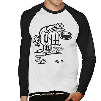 Grimmy Doctor męskie baseball Koszulka z długim rękawem