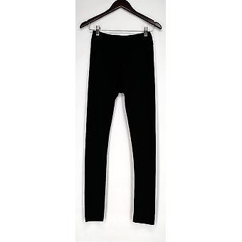 Kate & Mallory Leggings Cut & Custom w/ 3 Hemline Choices Black A428690