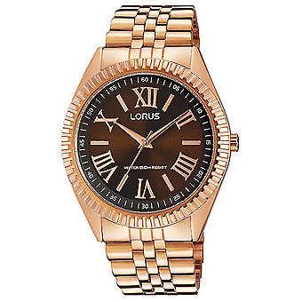 Lorus ladies Quartz Analog Women's Watch with Stainless Steel Bracelet Gold Plated RG280JX9