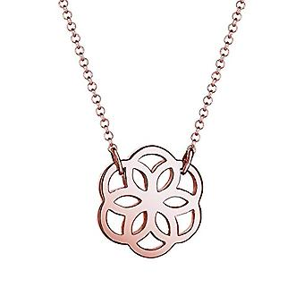 Elli says women s-Necklace silver Sterling 925 - length 45 cm - Silver - color: rose gold - cod. 0112431415_45