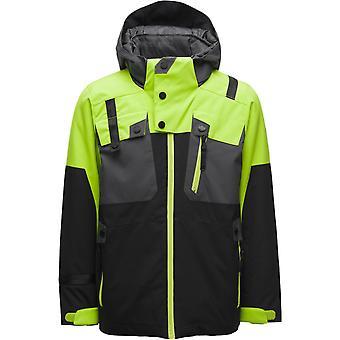 Spyder TORDRILLO Jungen Repreve PrimaLoft Ski Jacke schwarz