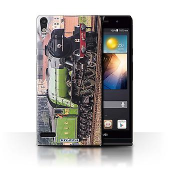STUFF4 Case/Cover for Huawei Ascend P6/Flying Scotsman/Steam Locomotive