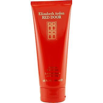 RED DOOR by Elizabeth Arden BODY LOTION 6.8 OZ