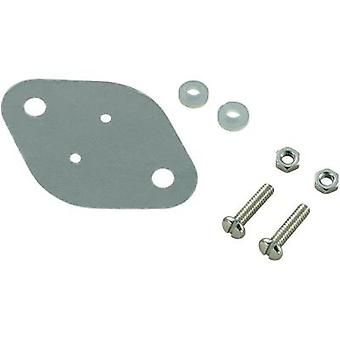 Semiconductor mounting set (L x W) 42 mm x 30 mm Suitable for TO 3 SCI A18-9C 1 Set