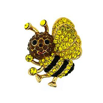 Butler y Wilson Small Bee cristal Pin